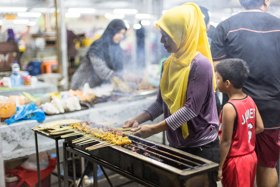 brunei street food