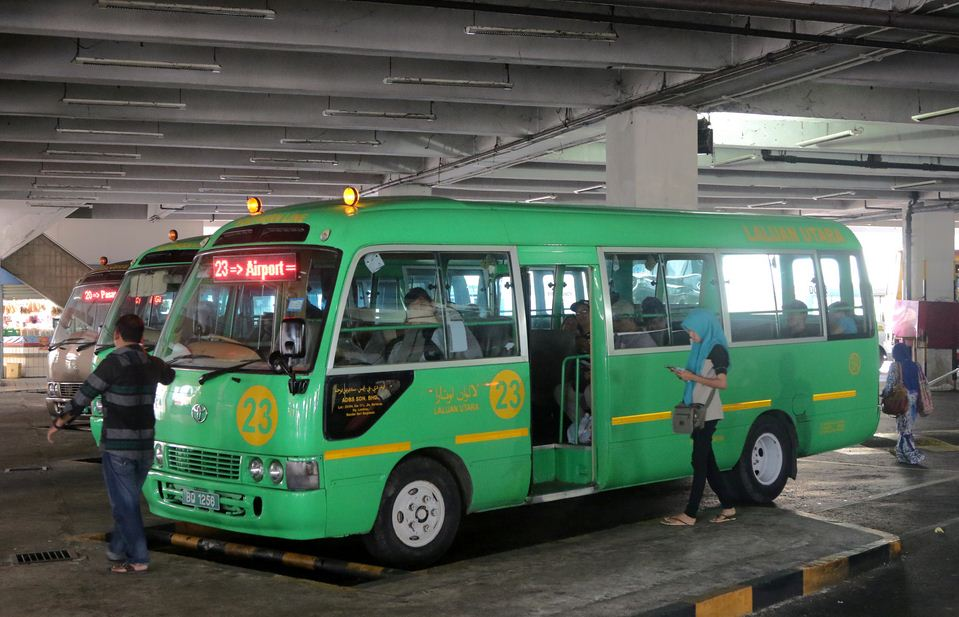 bus no23 brunei