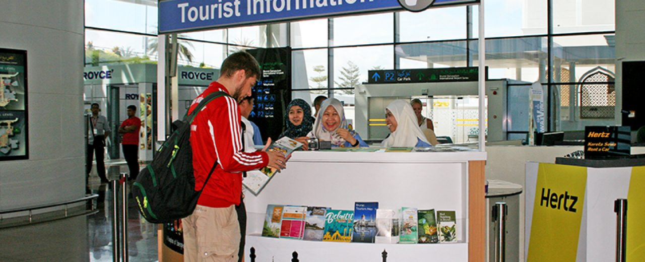 Tourist Information Centre at Brunei Airport