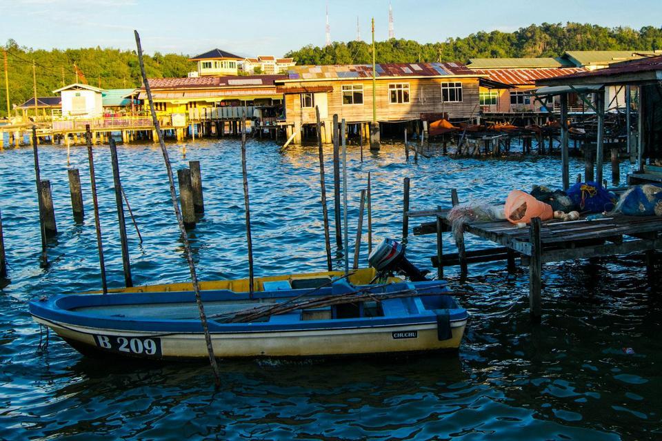 Kampong Ayer (Water Village) Afternoon Visit
