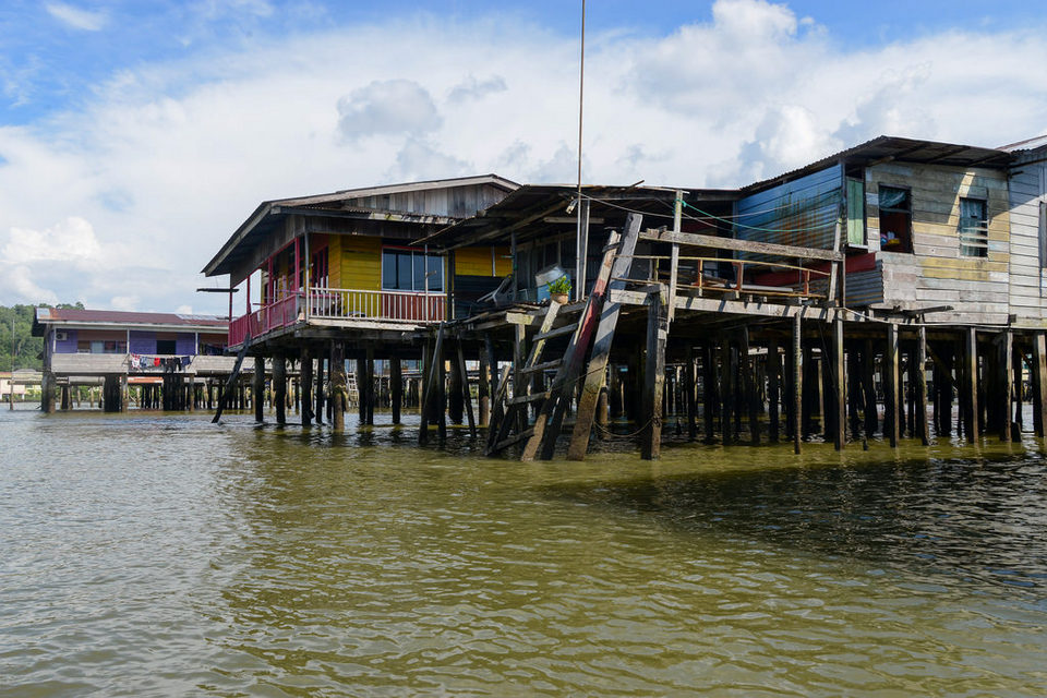 Kampong Ayer, the world's largest water village
