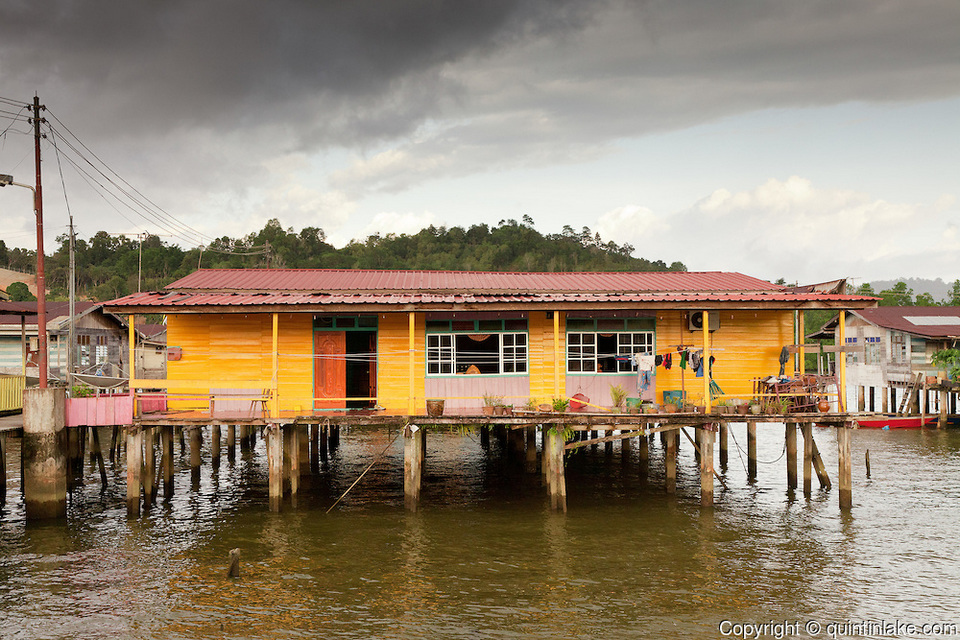 Kampong Ayer, the world's largest water village54