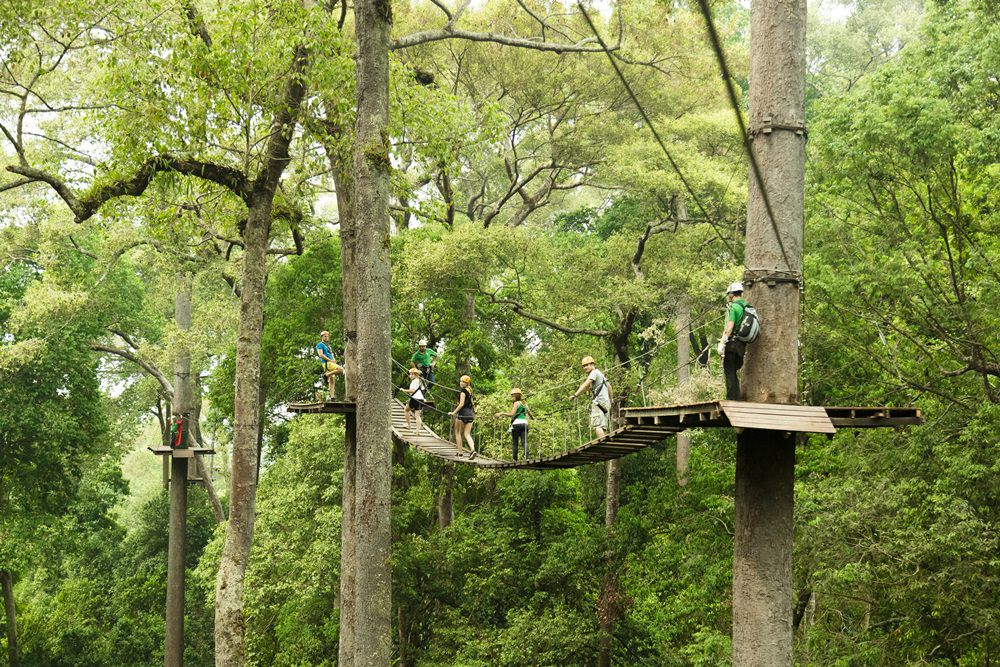 Jungle Flight Zipline Chiang Mai (Thailand)