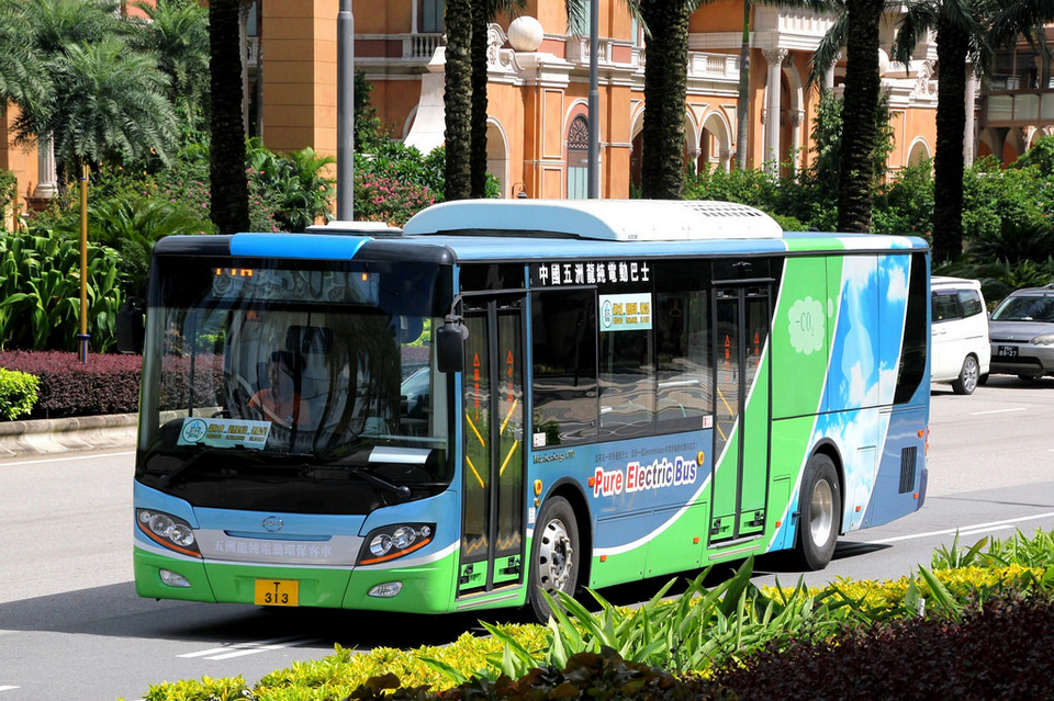 Electric-Bus macau