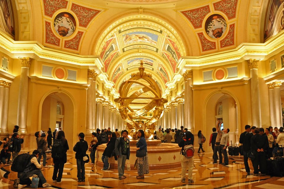 Inside the luxurious Venetian Macao