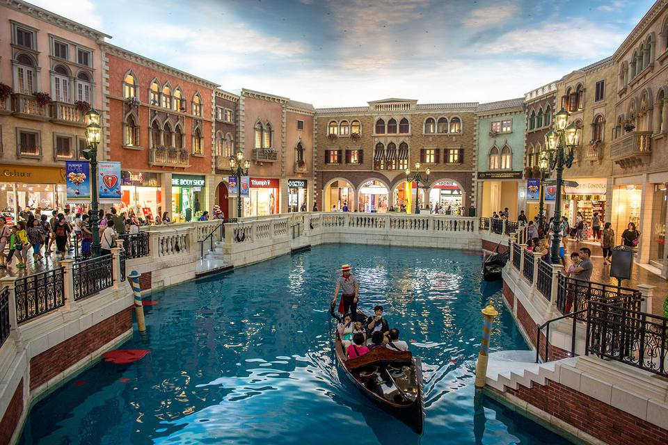 Venetian Casino and Hotel canal