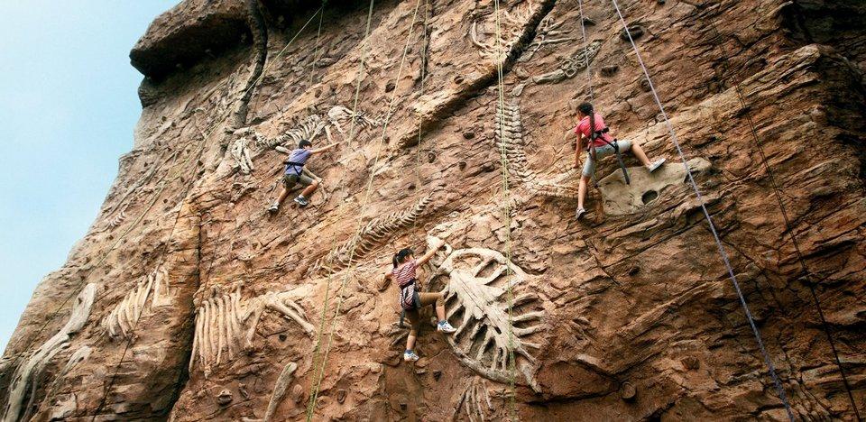 Amber Rock Climb universal singapore