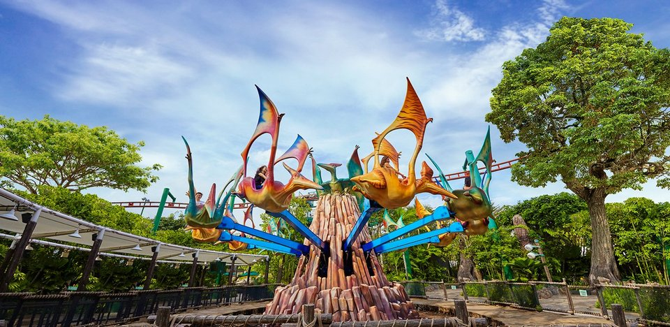 Dino Soarin '(The Lost World) universal singapore
