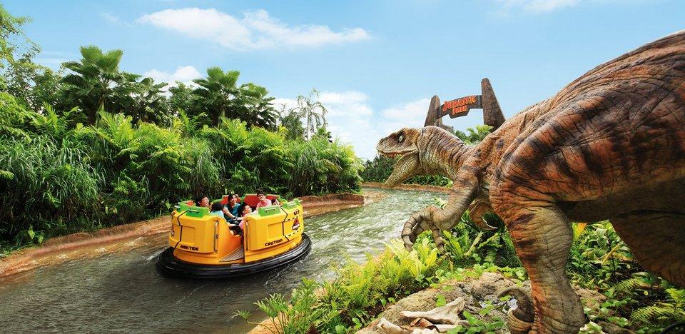 Jurassic Park Rapids Adventure universal singapore 1