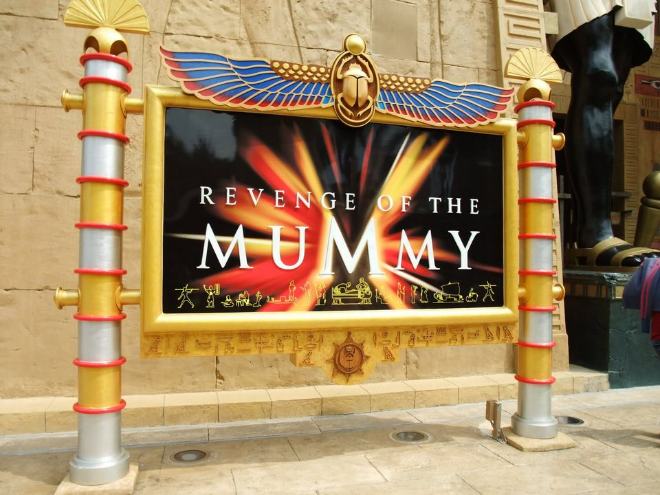 Revenge of the Mummy universal singapore 1