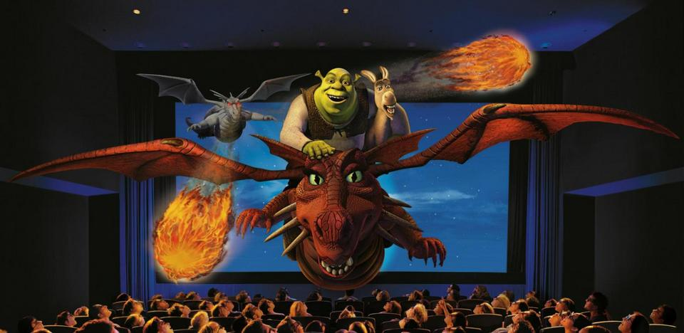 Shrek 4-D Adventure universal singapore