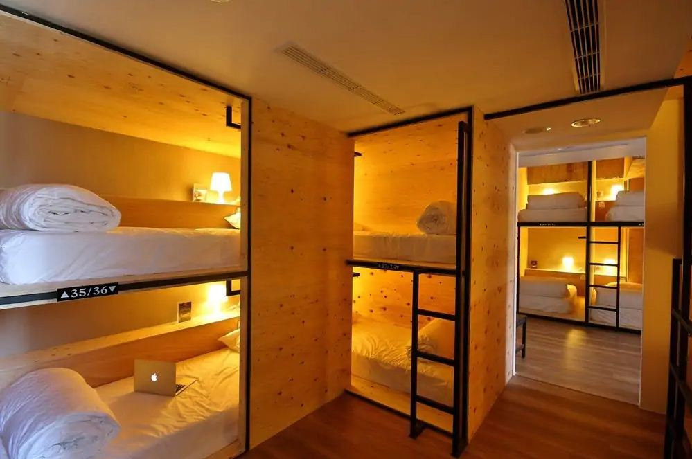 Mini West Hotel, Taichung, Shared Dormitory, Shared Bathroom, Guest Room