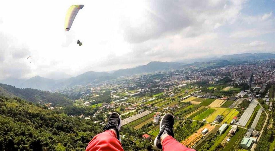 Nantou Paragliding puli