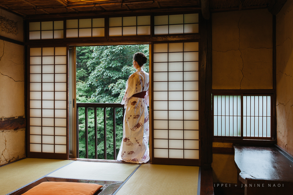 Enjoying a traditional Japanese ryokan, Nikko