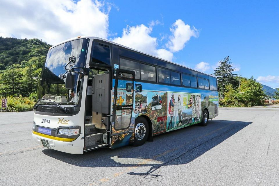 Direct bus between Nikko and Oze National Park