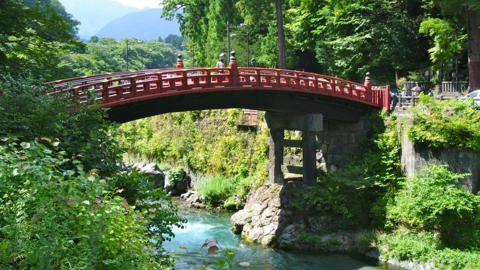 bridge Nikko Futarasan Shrine (Futarasan jinja)