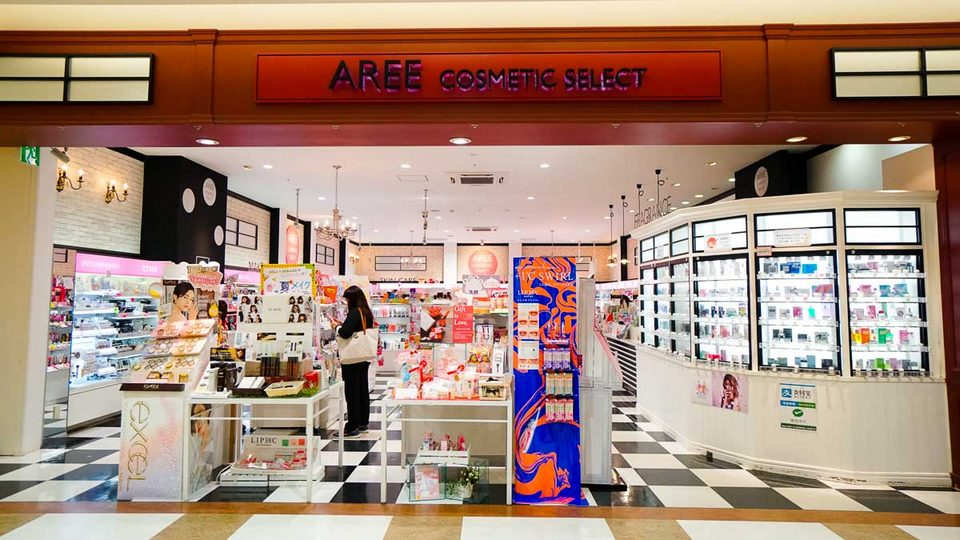 AEON mall cosmetic shop