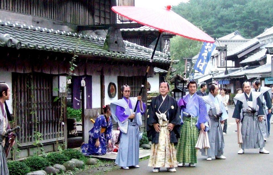 Edo Wonderland Nikko Edomura the samurai era in town and country1