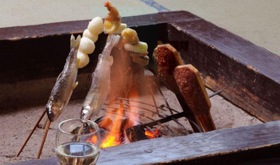 Irori Charcoal Cooking