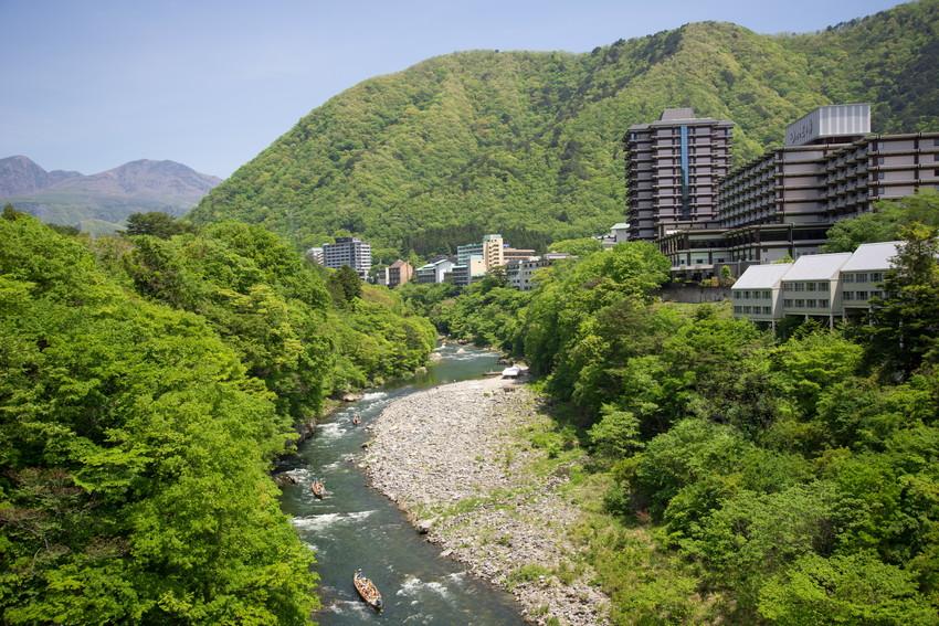 Kinugawa Onsen Hotel, Nikko winter