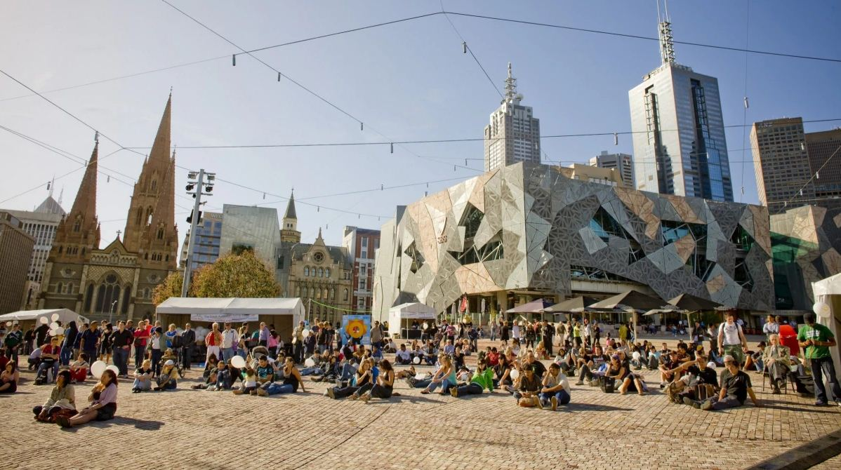 Federation Square3 Picture: 7 days in melbourne blog.