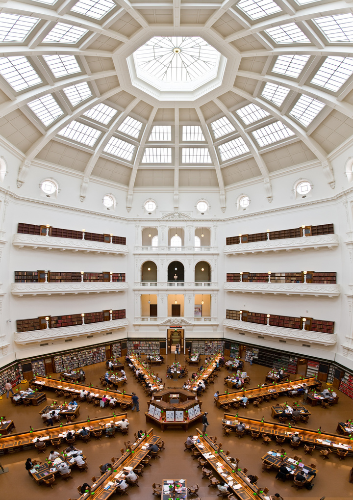 State_Library_of_Victoria_La_Trobe_Reading_room_5th_floor_view