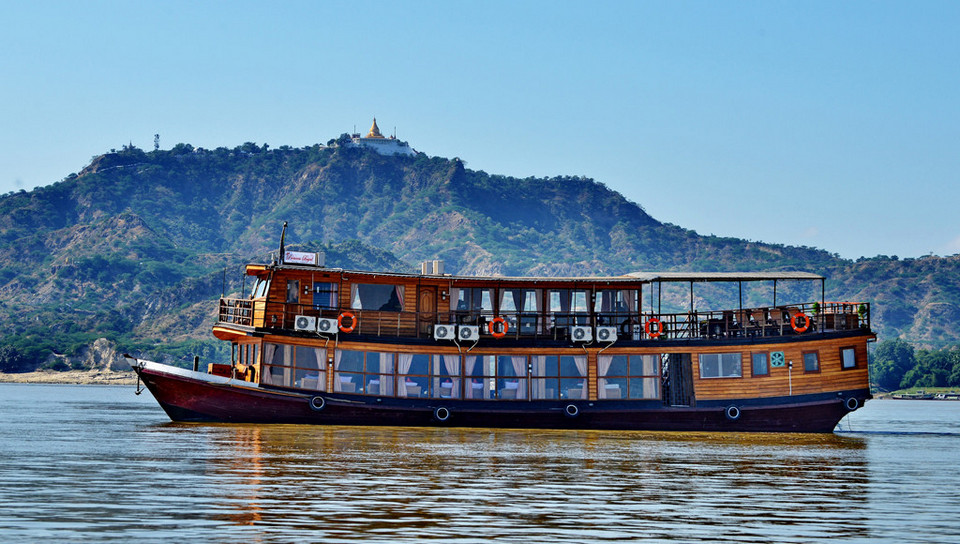 Two Night Cruise (Downriver) Mandalay TO Bagan