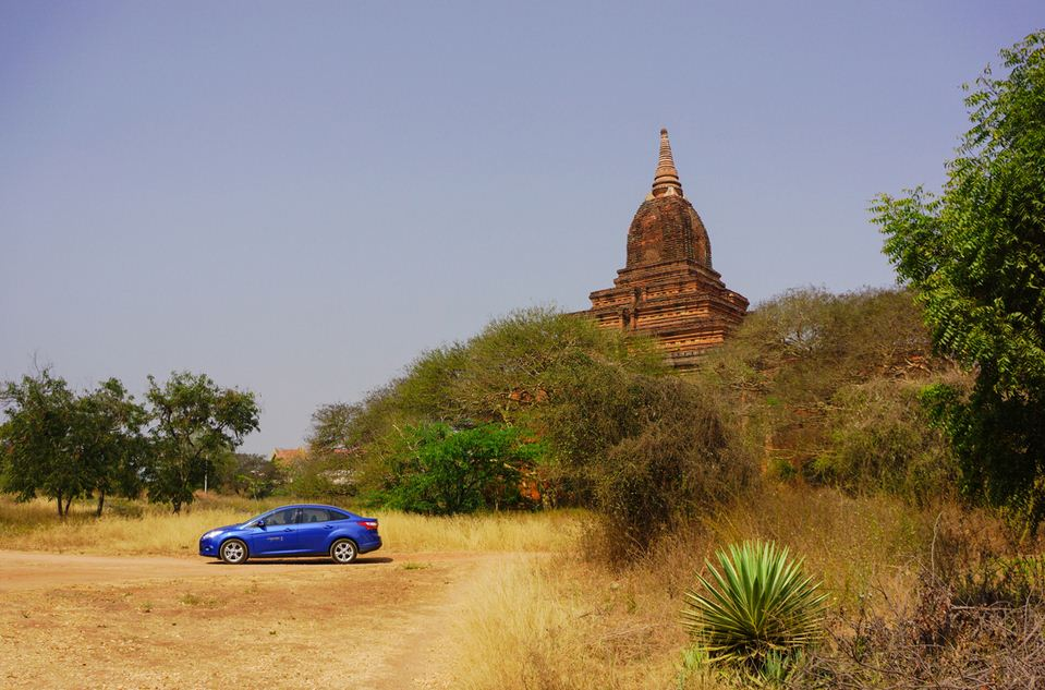 rent car in bagan