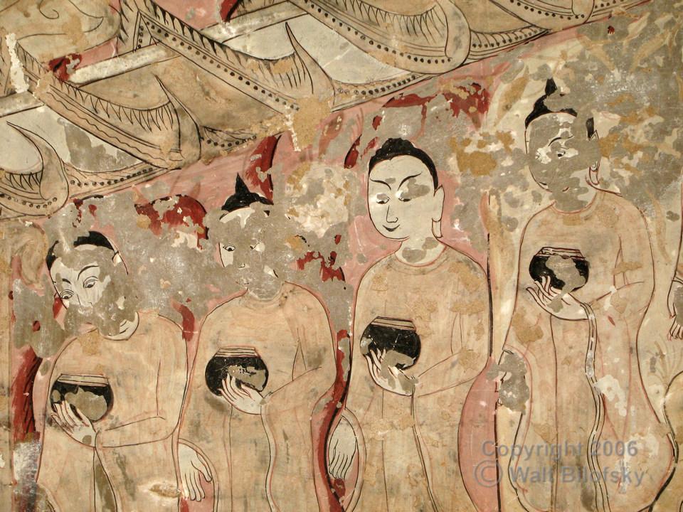 0448a Fresco from the Sulamani Pahto (1181), Bagan, Myanmar