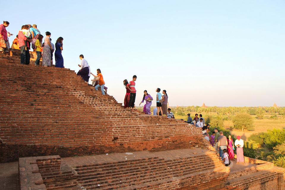 Pyathada Paya | bagan travel blog