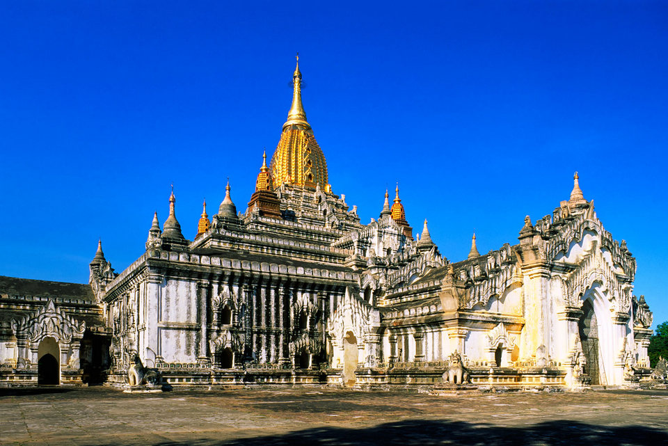 The most illustrious temple in Myanmar