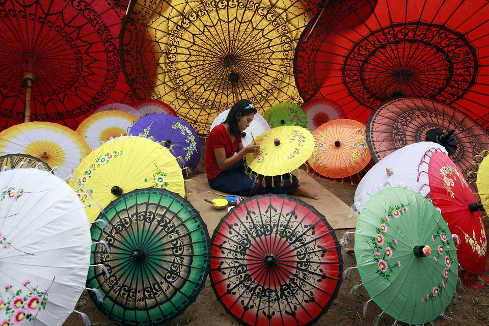 Pathein Umbrella
