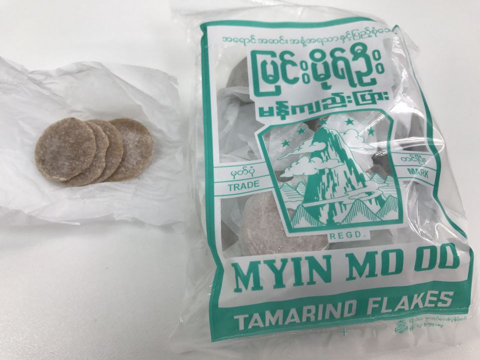 Tamarind flakes