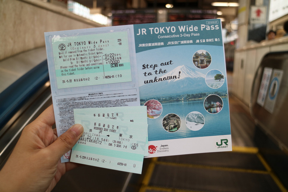 JR Pass cards are used by many travelers to navigate the city for convenience.