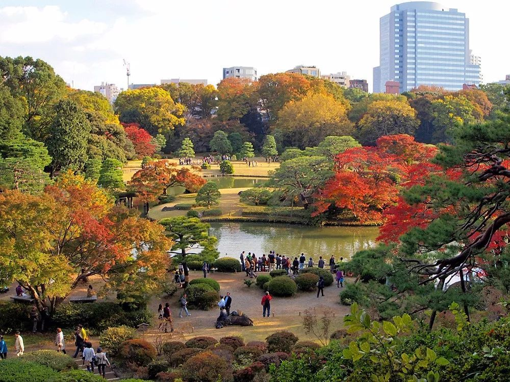 The Royal Garden of the Imperial Palace of Tokyo is also an ideal picnic spot with green grounds.
