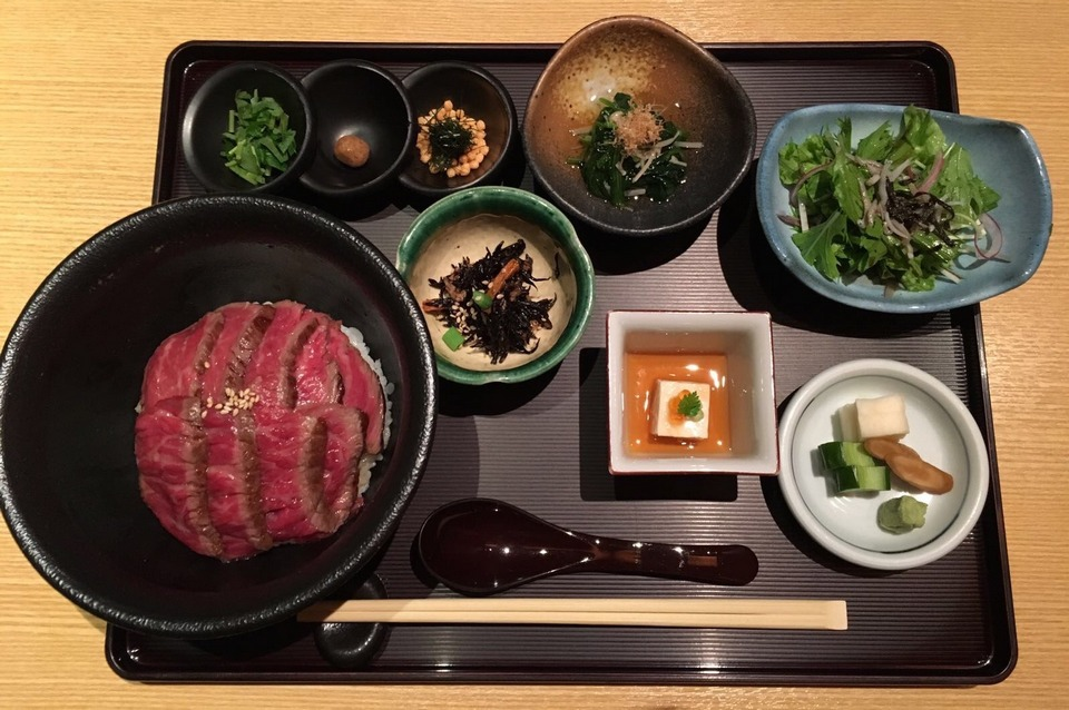 lunch at ginza