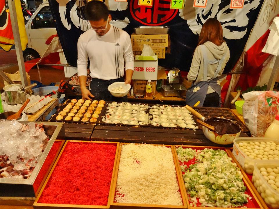 food stalls tokyo