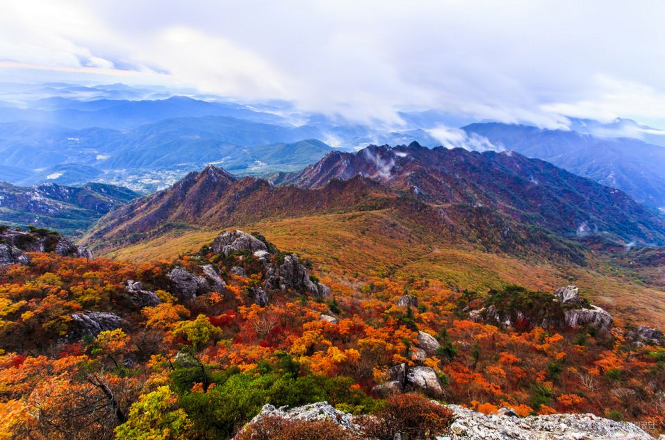 Autumn Colors in Korea - Gayasan National Park9