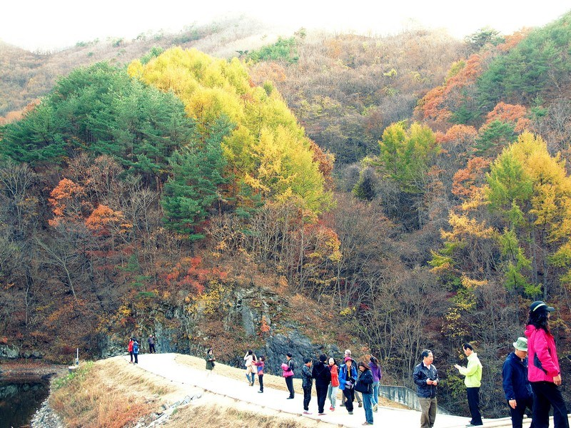 Juwangsan National Park autumn