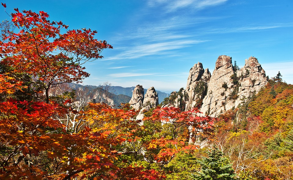 Korea - Seoraksan National park - sorak mountain (2)