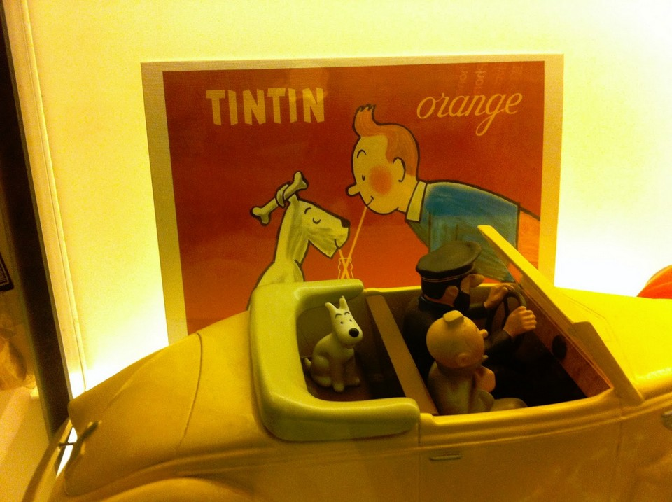 Tintin, Snowy and Captain Haddock