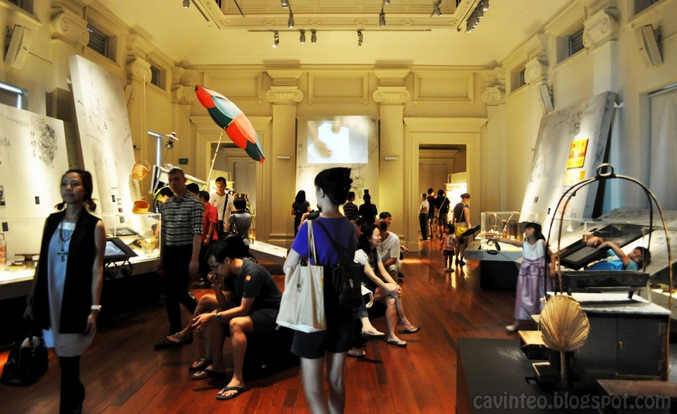 living galleries National Museum of Singapore