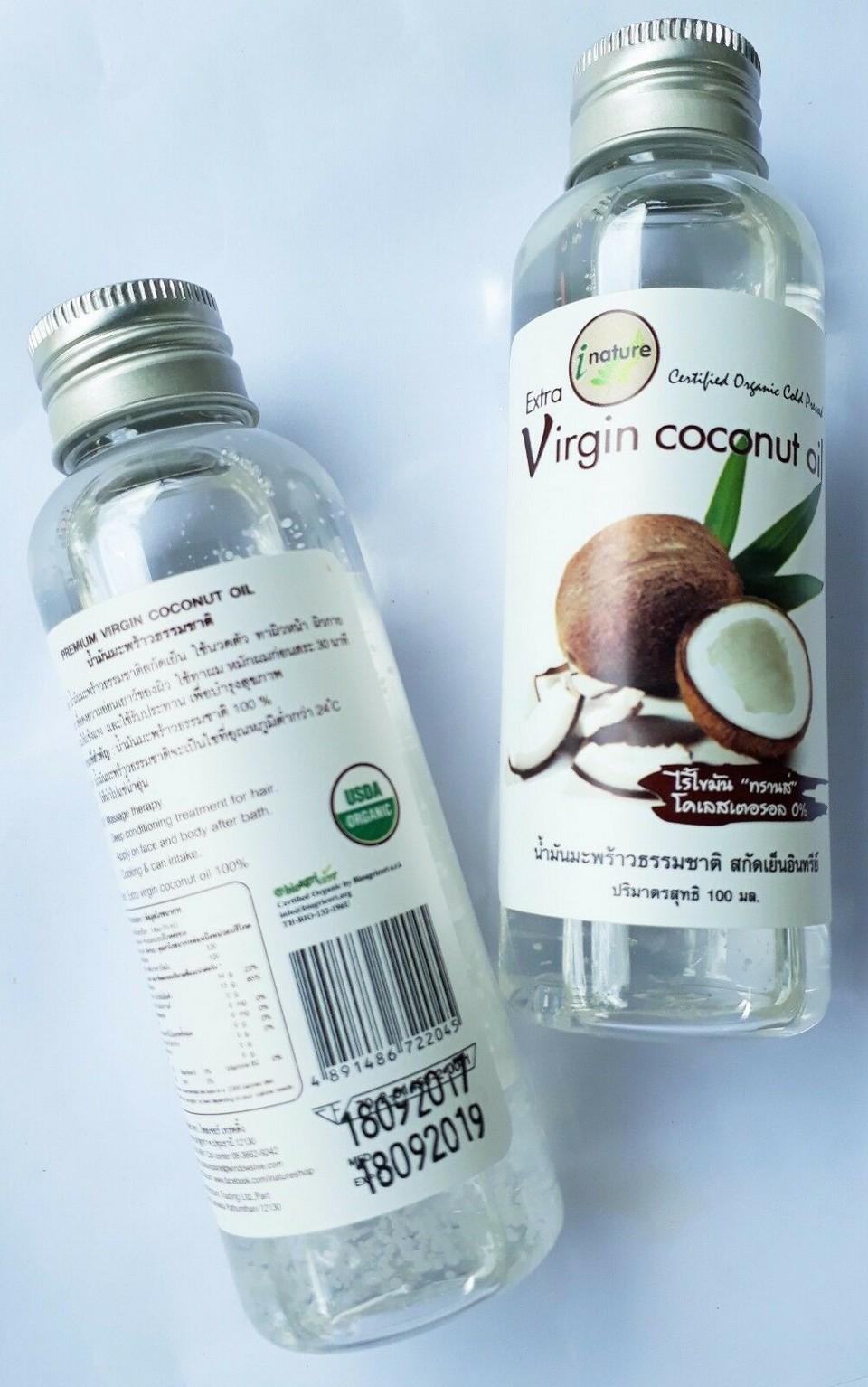 Must buy in Thailand Coconut Oil (1)