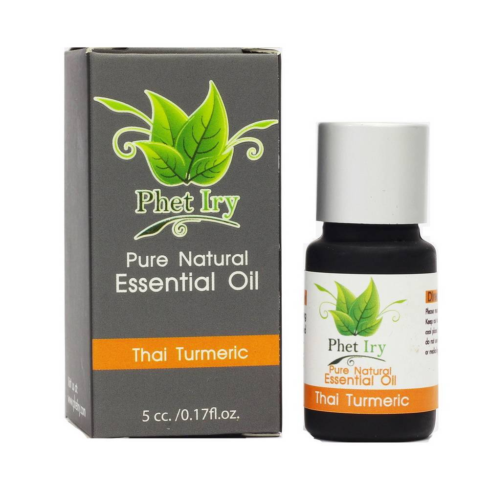 Pure, natural essential oil Thai Turmeric