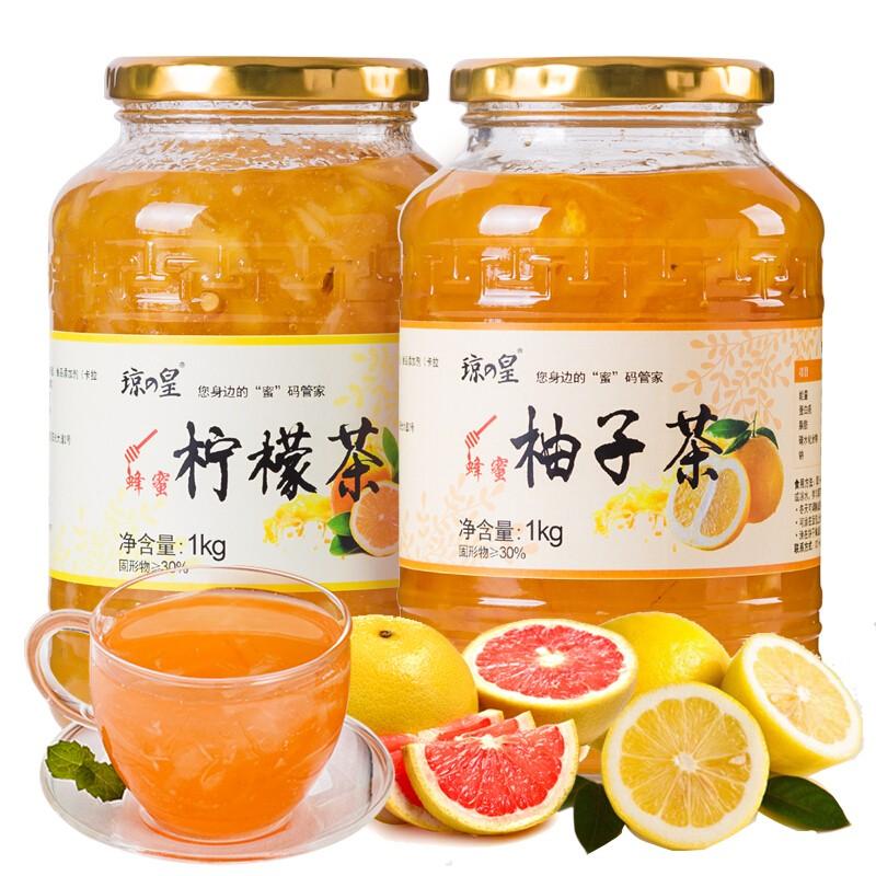 Honey grapefruit tea (Honey citron tea)1