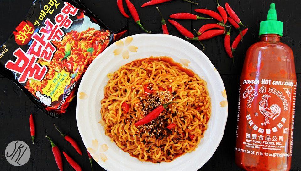 Korean Spicy Noodle