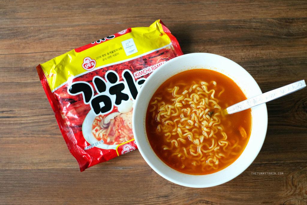 Korean Spicy Noodle4 Credit: best best things to buy in Korea blog.