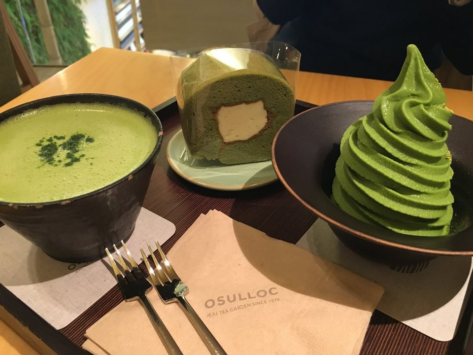 Osulloc (오설록) Tea House in Myeongdong1 - Living + Nomads ...