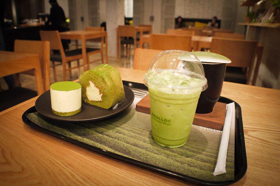 Osulloc (오설록) Tea House in Myeongdong