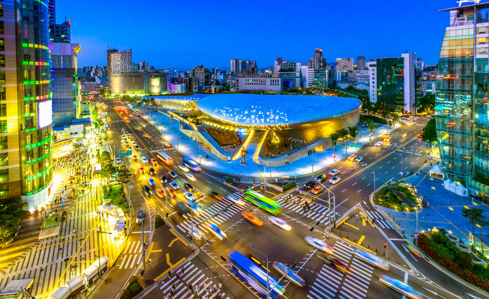 seoul shopping street